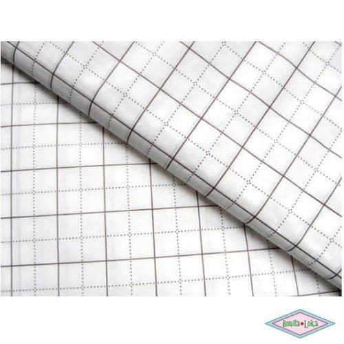 Patroonpapier ruit 80cmx15mtr