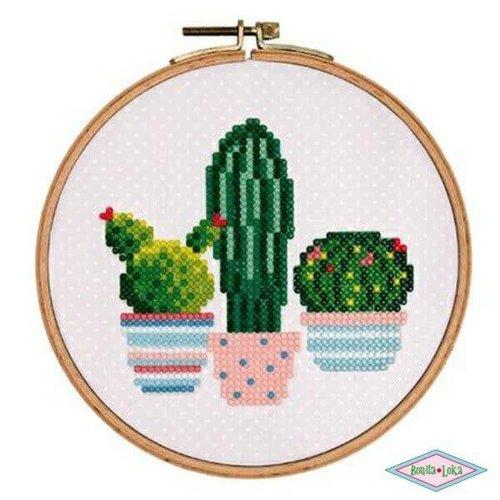 Rico Diamond painting cactus 15,5cm
