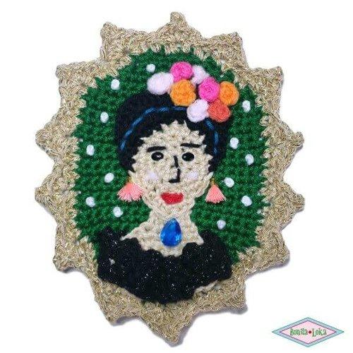 Frida Kahlo Camee haken