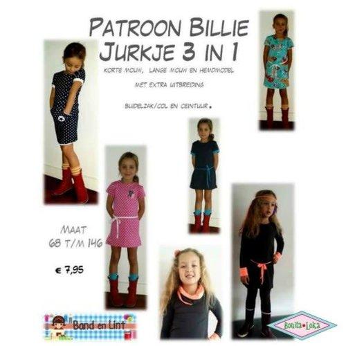 3 in 1 jurkje Billie naaipatroon