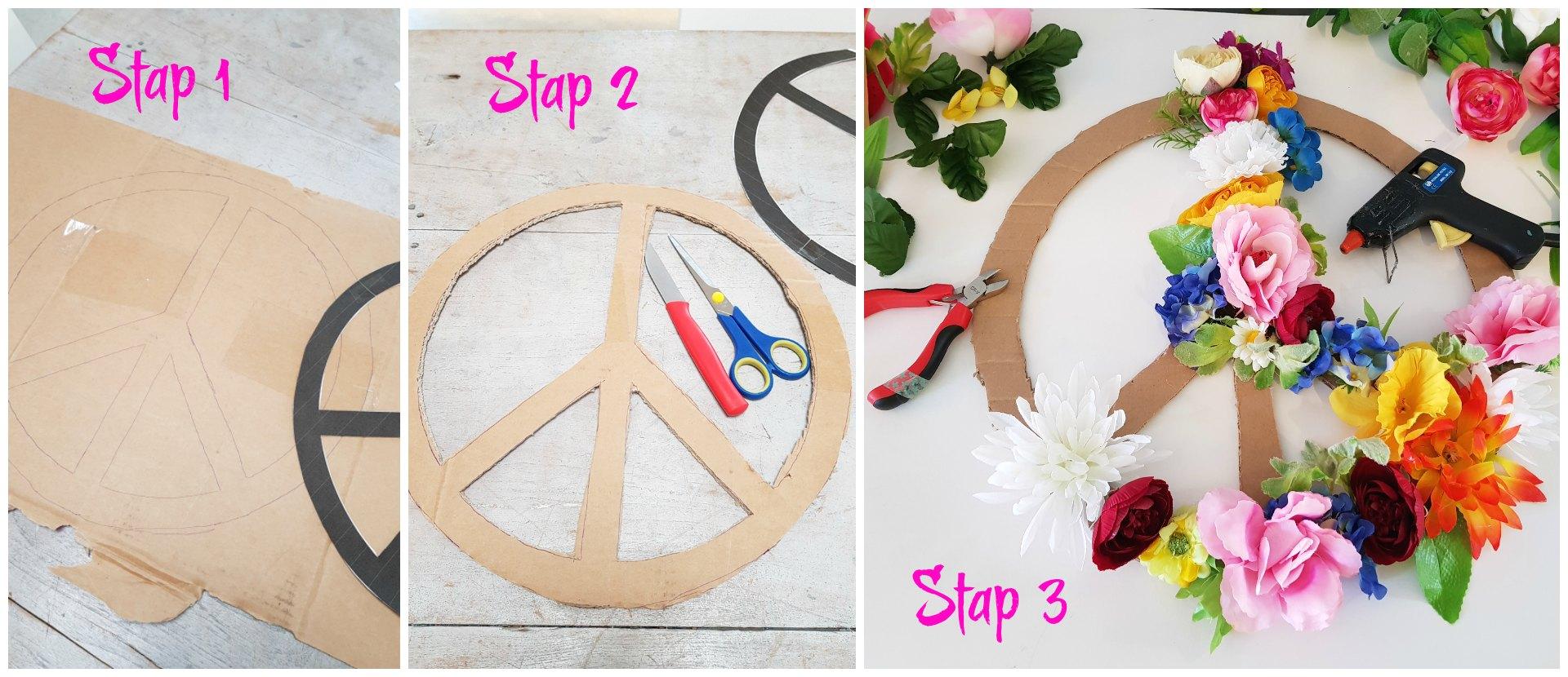 Peace teken DIY