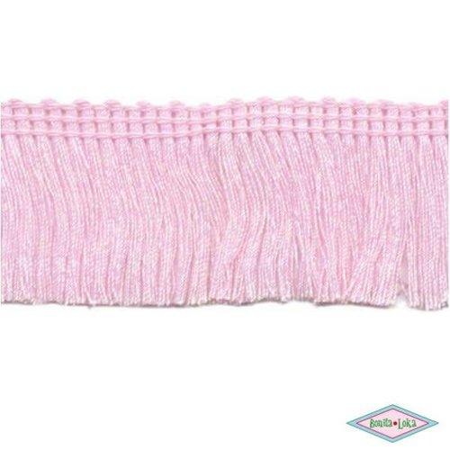 Franjeband light roze