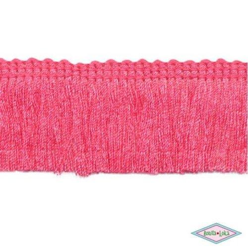 Franjeband oud roze