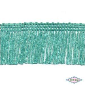 Franjeband zeegroen