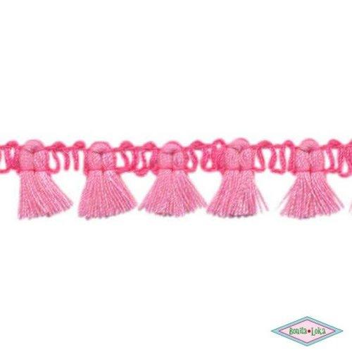 Kwastjes band roze fuchsia