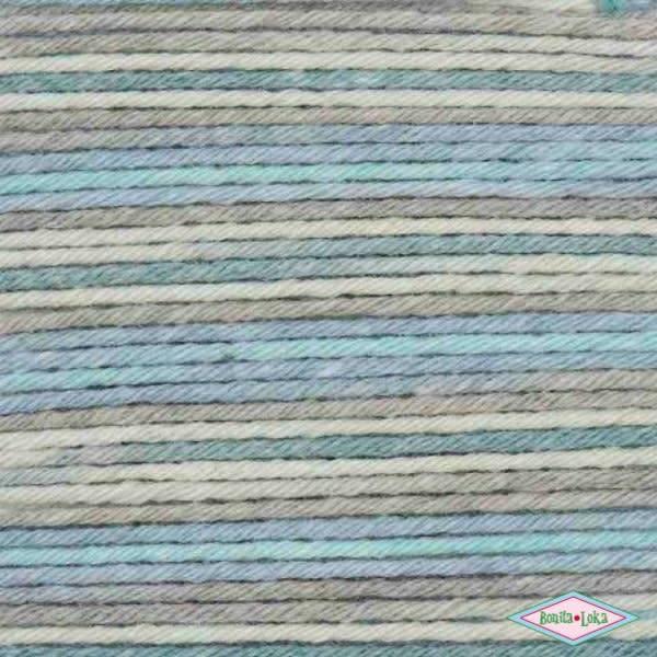 Rico Rico Baby Cotton Soft Print 019 Denim-Grijs