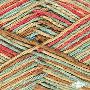 Rico Baby Cotton Soft Print 016 Bruin-Lichtblauw