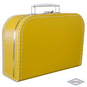 Koffertje oker 25 cm