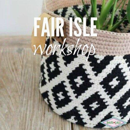 Workshop Fair Isle haken | Do 6 sept 19.30 - 21.30 uur