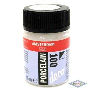 Amsterdam deco porcelain 100 Wit