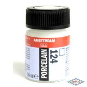 Amsterdam deco porcelain 124 Glans Kleurloos