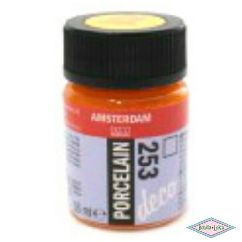 Amsterdam Amsterdam deco porcelain 253 Goudgeel