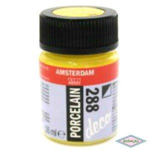 Amsterdam deco porcelain 288 Heldergeel Dekkend