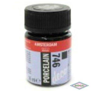 Amsterdam deco porcelain 746 Zwart Dekkend