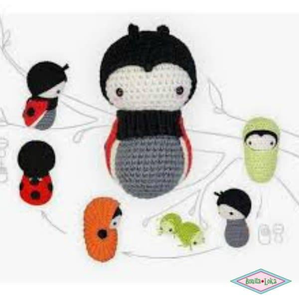 Lalylala Kevers Insecten En Vlinders Haken Atelier Bonita Loka