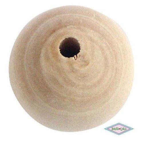 Blank Houten kraal 20mm