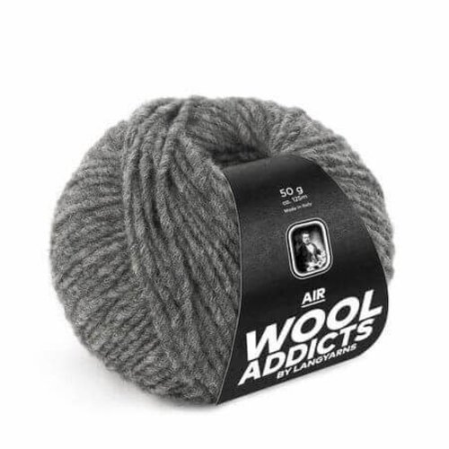 Lang Yarns Lang Yarns Wooladdicts Air grijs gemeleerd 5