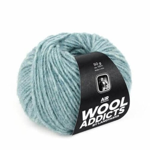 Lang Yarns Lang Yarns Wooladdicts Air zeegroen 74