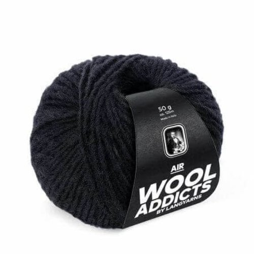 Lang Yarns Lang Yarns Wooladdicts Air zwart 4