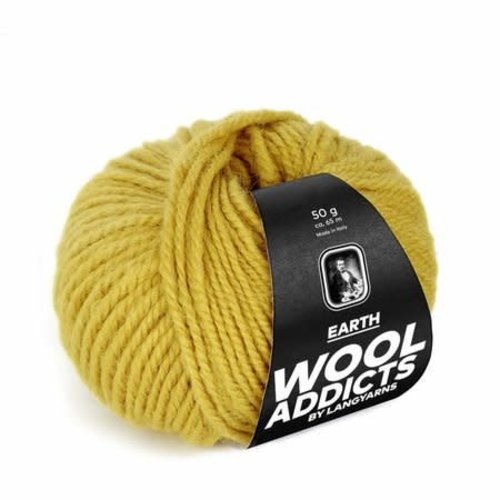 Lang Yarns Lang Yarns Wooladdicts Earth geel 11