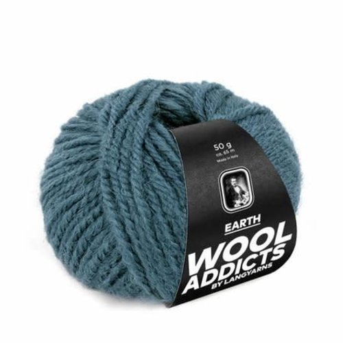 Lang Yarns Lang Yarns Wooladdicts Earth zeegroen 74
