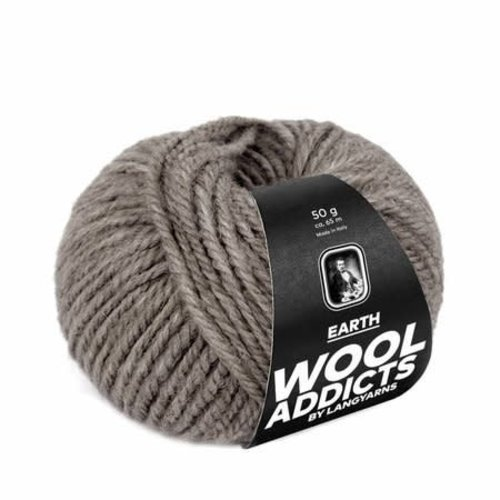 Lang Yarns Lang Yarns Wooladdicts Earth steen 96