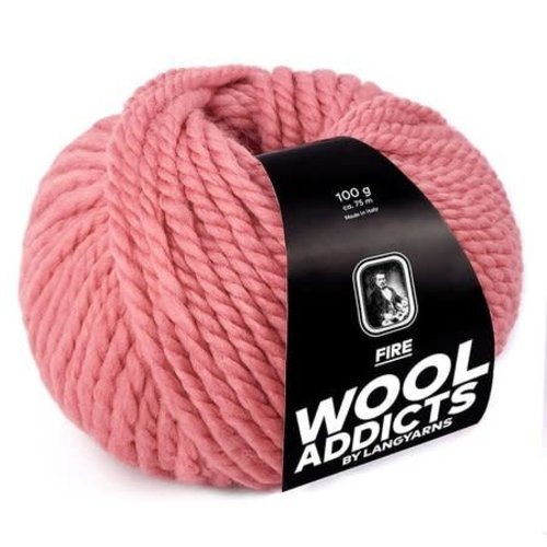Lang Yarns Lang Yarns Wooladdicts Fire roze 29