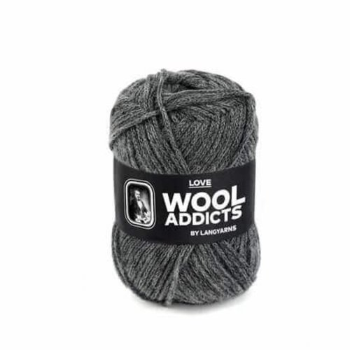 Lang Yarns Lang Yarns Wooladdicts Love grijs gemeleerd 5
