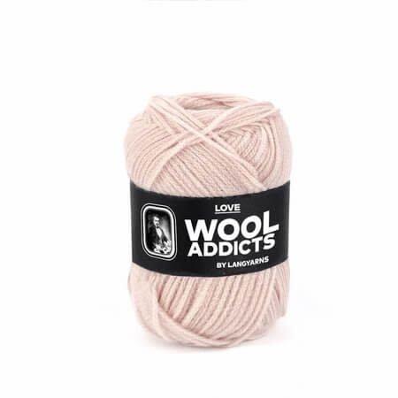 Lang Yarns Lang Yarns Wooladdicts Love roze 19