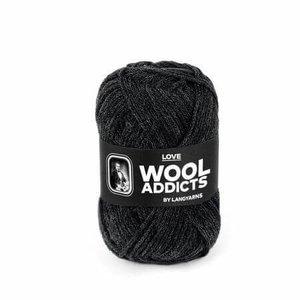 Lang Yarns Wooladdicts Love antraciet 70