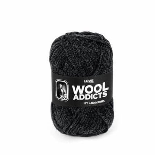 Lang Yarns Lang Yarns Wooladdicts Love antraciet 70