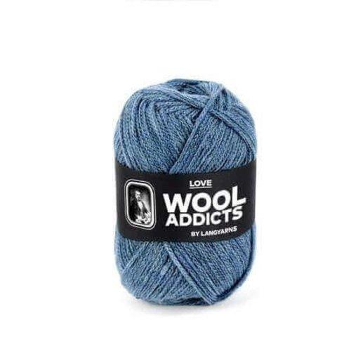 Lang Yarns Lang Yarns Wooladdicts Love zeegroen 74