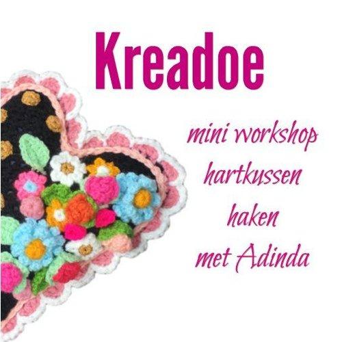 Kreadoe mini workshop met Adinda Zoutman