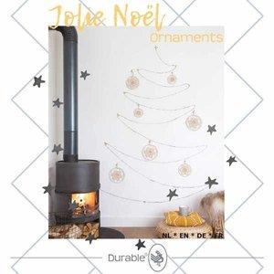 Jolie Noel kerst ornamentjes haken