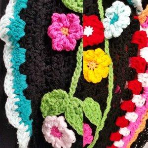 Vrolijke  Sjaal Folklore haakpakket
