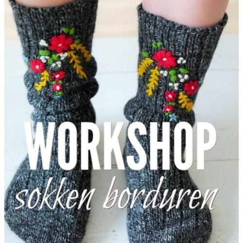 Workshop sokken / handschoen borduren | za. 1 dec 10.30 - 12.30 uur