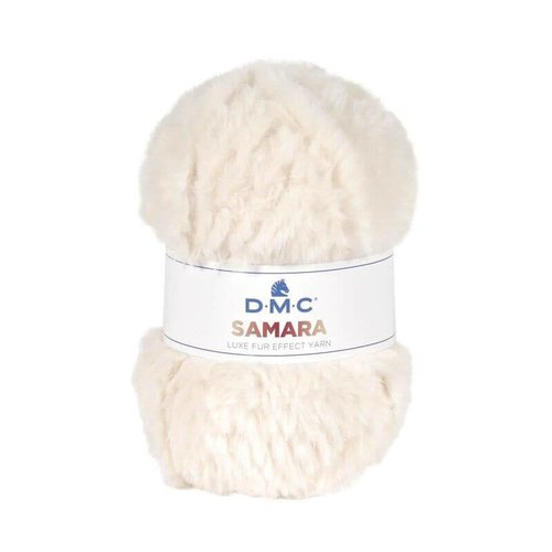 DMC DMC Samara luxe fur effect Yarn 400 wit