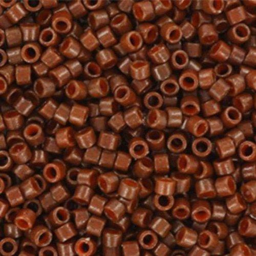 Miyuki delica 11/0 5gr. 2142 duracoat opaque dyed cognac