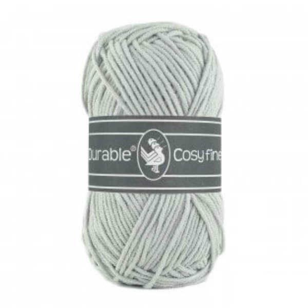 Durable Durable Cosy Fine 2228 Silver grey