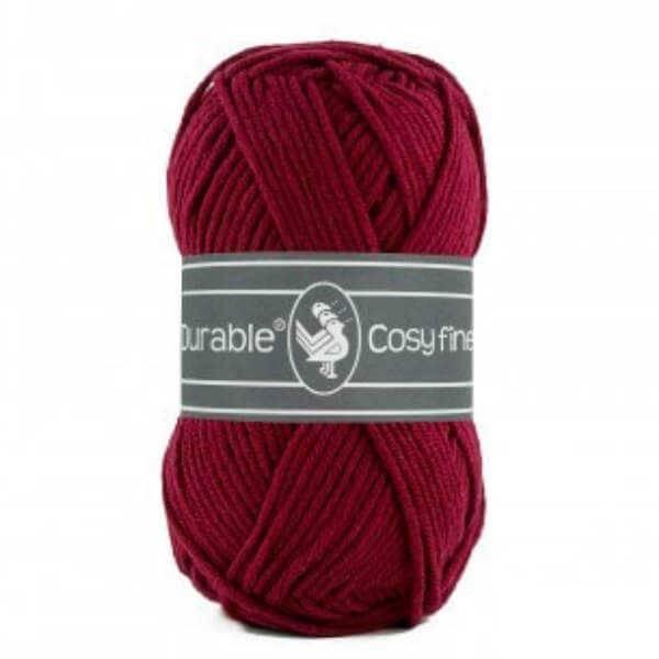 Durable Durable Cosy Fine 222 Bordeaux