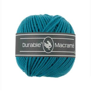 Durable macramé 371 turquoise