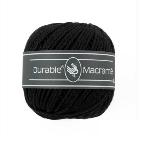 Durable Durable macramé 325 black