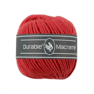 Durable macramé 316 red