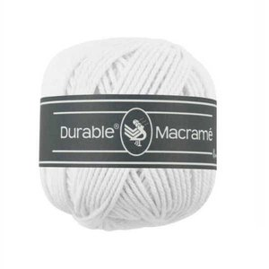 Durable macramé 310 white