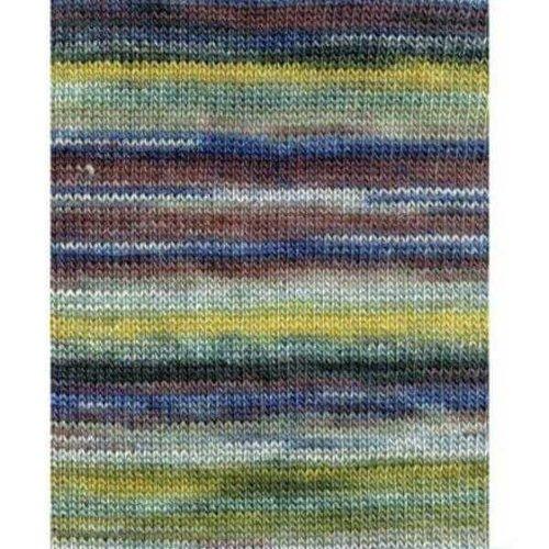 Lang Yarns Lang Yarns Dipinto 25 blauw/geel/bordeaux