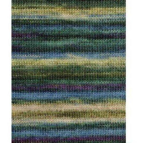 Lang Yarns Lang Yarns Dipinto 18 bruin/beige/groen/blauw/roze
