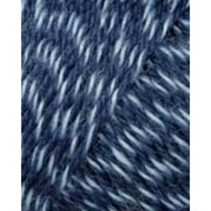 Lang Yarns Jawoll Superwash 58 Jeansblauw/wit