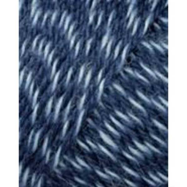 Lang Yarns Lang Yarns Jawoll Superwash 58 Jeansblauw/wit