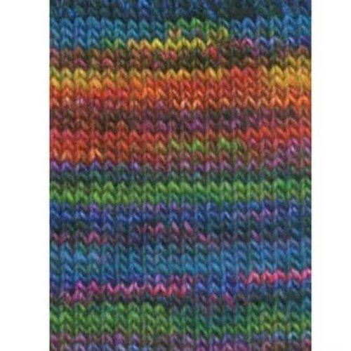 Lang Yarns Lang Yarns Mille Colori Big 51 groen/blauw/roze/zwart