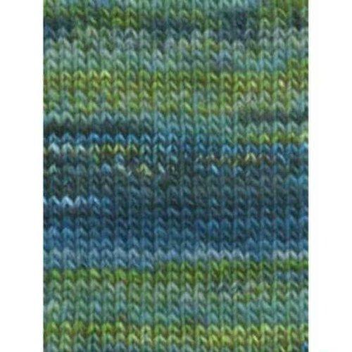 Lang Yarns Lang Yarns Mille Colori Big 35 blauw/groen